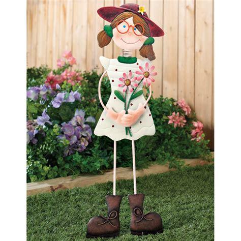 Decorative Garden Stakes by Garden Statue Decorative Garden Stakes Kimball