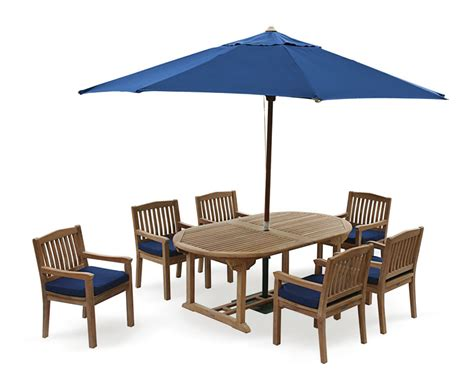 6 Seat Patio Table And Chairs Brompton Teak 6 Seater Extending Dining Set Outdoor Patio Table And 6 Chairs Teak