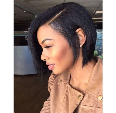 simple hairstyles for relaxed hair 1851 best images about bobs medium length fluffy styles