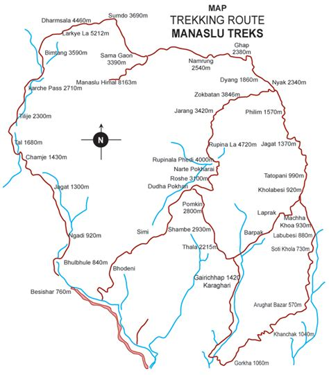 Manaslu Larke Pass Trekking   Compare Trek Prices