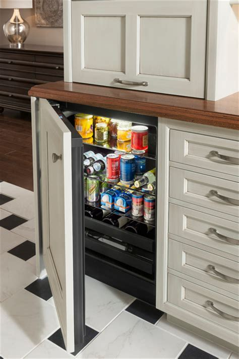beverage center traditional by wood mode fine custom