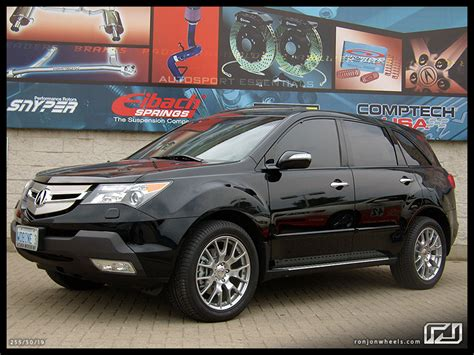 2007 acura mdx running boards 2007 mdx with 19 quot wheels and running boards acura mdx
