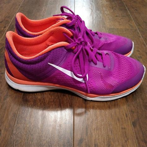 orange and purple nike running shoes nike nike running shoes purple orange white from j s