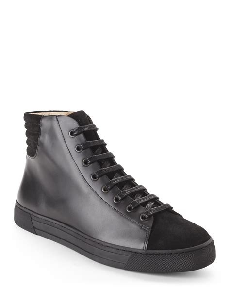 damir doma sneakers lyst silent damir doma black fidis high top sneakers