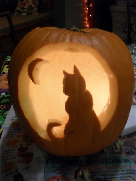cat templates for pumpkin carving cat pumpkin carving template space