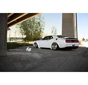 Liberty Walk Challenger Hellcat On PUR Wheels And Air