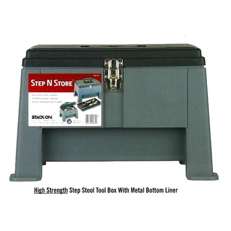 Step Stool Toolbox Combo by Waterworks Tools And Supplies For Contractors And Utilities