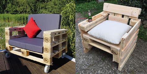 muebles de madera de palets 10 ideas para hacer sillones con palets embalajes nicol 225 s