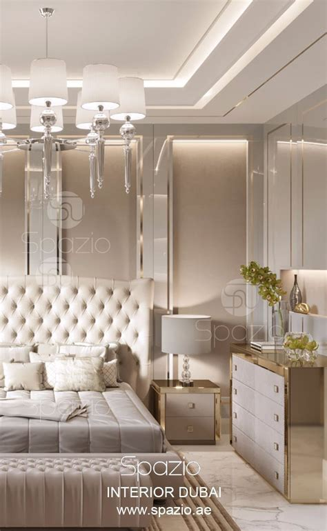 master bedroom luxury design fot modern house  dubai