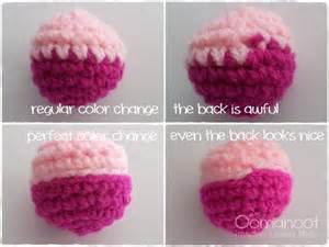 changing colors crochet the crochet color change oomanoot