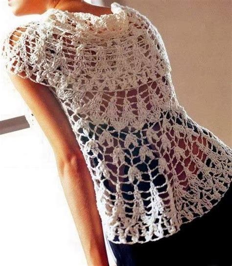 chaleco redondo crochet patron a patr 243 n de chaleco circular tejido a crochet