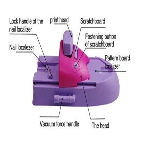 Nagel Stempel Machine by Professional Nail St Machine Nail Printer Sting Tool