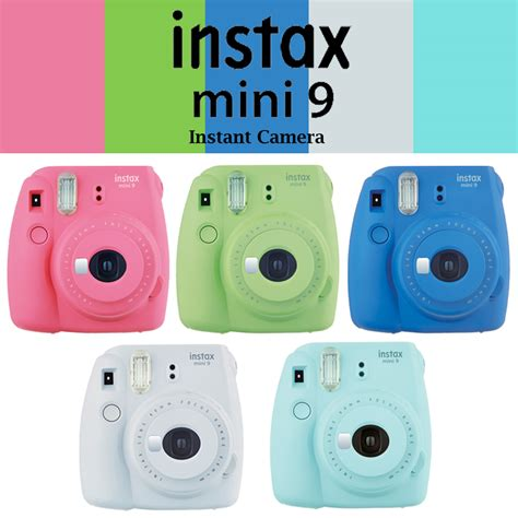 100 genuine fujifilm instax mini 9 fuji instant upgraded mini 8 photo selfie