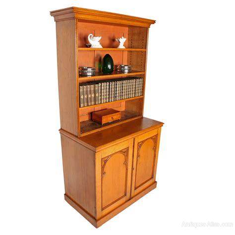 Moulded Cornice Victorian Oak Open Bookcase Antiques Atlas