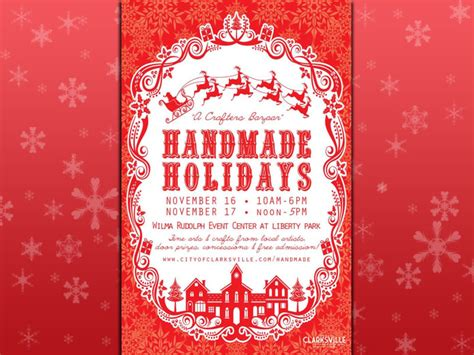 Handmade Holidays - montgomery county government discover clarksville tn