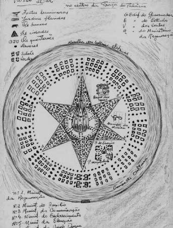 GRUPO ESPÍRITA ALLAN KARDEC: A origem dos mapas da colônia