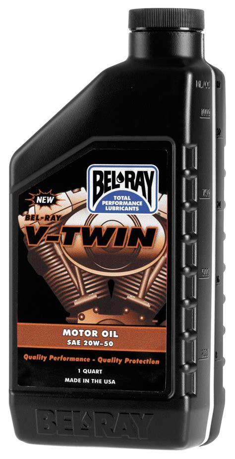 Bel Ray V Twin Motor Oil 20w 50   RevZilla