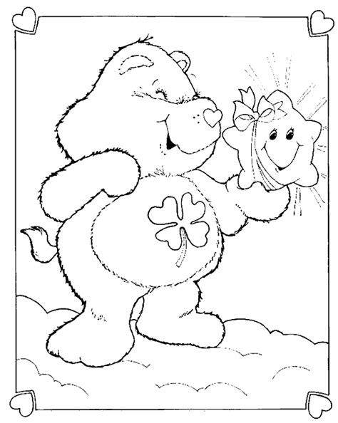 Good Luck Bear Coloring Pages Az Coloring Pages Luck Coloring Pages
