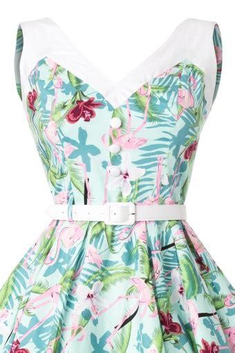 Larissa Flaminggo 50s larissa flamingo swing dress
