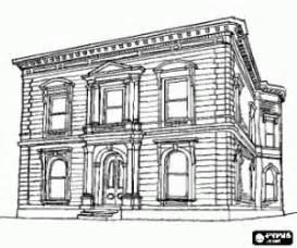 Desenhar Planta Baixa Online desenhos de edif 237 cios e outras constru 231 245 es para colorir