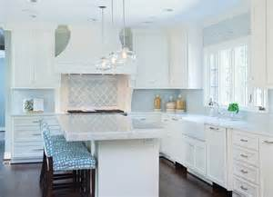 Blue Tile Kitchen Backsplash French Blue Tile Backsplash Design Ideas
