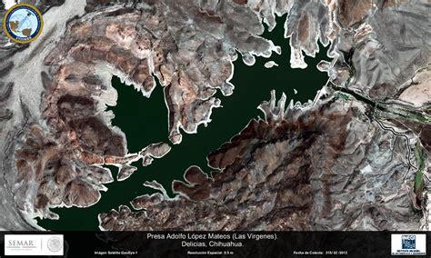 imagenes satelitales conabio imagen satelital de la presa adolfo l 243 pez mateos chiuahua
