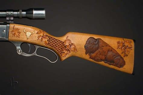 pattern stock gun click to close carved gunstocks pinterest guns wood