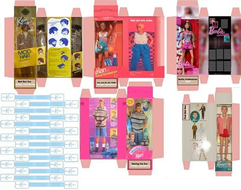 printable foldable star wars toys image result for box toys miniature printables barbie