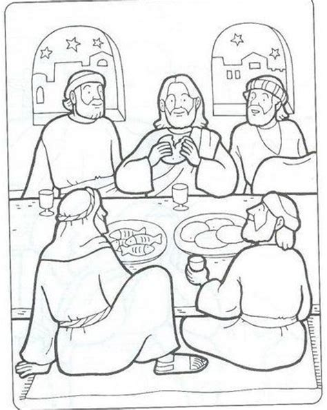 coloring page jesus last supper best 25 jesus last supper ideas on pinterest the last
