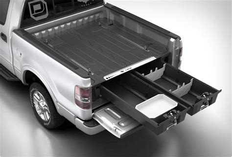 truck bed storage systems decked truck bed storage system it s a man s world