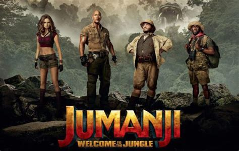 jumanji film movies jumanji welcome to the jungle receives positive first