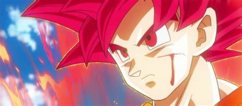 imagenes de goku rojo dbs por esta raz 243 n goku utilizar 225 el saiyajin dios rojo