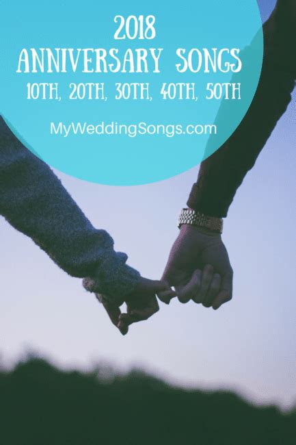 Wedding Anniversary Songs by Anniversary Songs For 2018 10th 20th 30th 40th 50th
