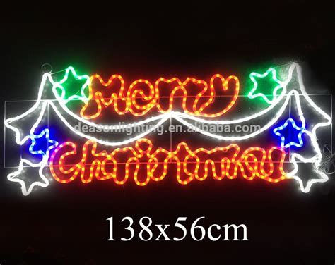 Merry Christmas Outdoor Light Sign Decoratingspecial Com Outdoor Lighted Signs