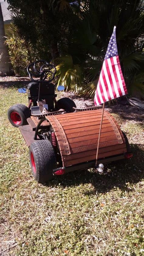 rat rod golf cart custom yamaha gas powered    sale