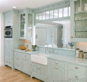 Blue Cabinets In Kitchen Victorian Kitchens Cabinets Design Ideas And Pictures