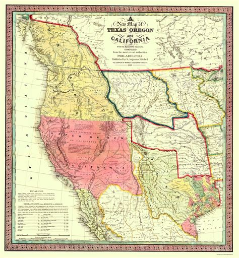 map of oregon california itna0010 a jpg