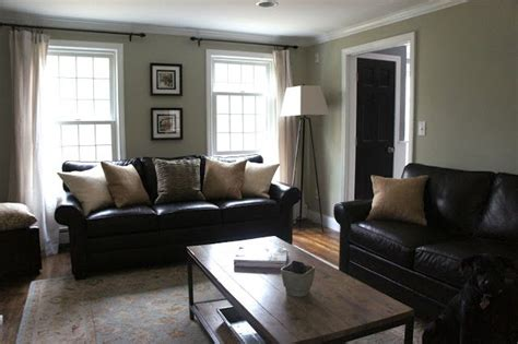Living Room Ideas Black Leather Sofa Decorating With Black Leather Couches My House Inspiration Pinterest House Tours Curtain