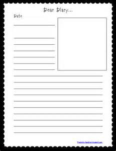 Diary Entry Template by 7 Diary Template Memo Formats