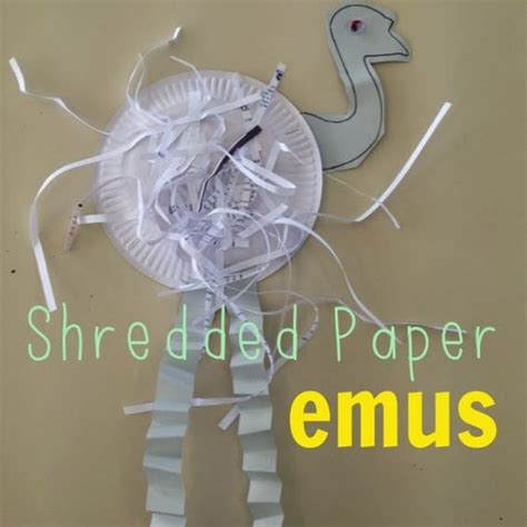 craft paper australia emu aussies and crafts on