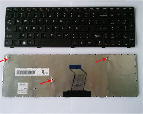 Keyboard Laptop Lenovo G570 Replace Remove Lenovo G570 Z570 Keyboard