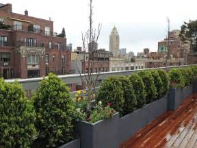 Rooftop Plants manhattan rooftop terrace roof garden deck outdoor