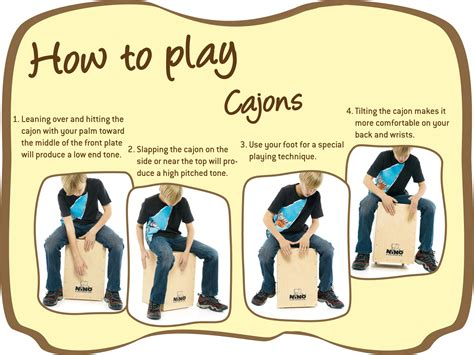 Or How To Play Cajons Nino 174 Percussion