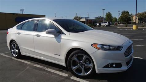 2013 ford fusion hybrid mpg buy used 2013 ford fusion hybrid se 47 mpg navigation