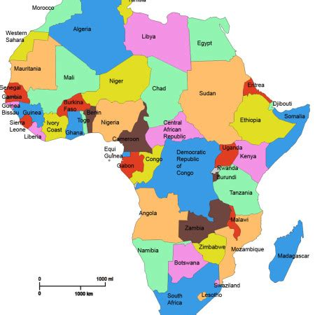 africa map of languages language facts facts about language