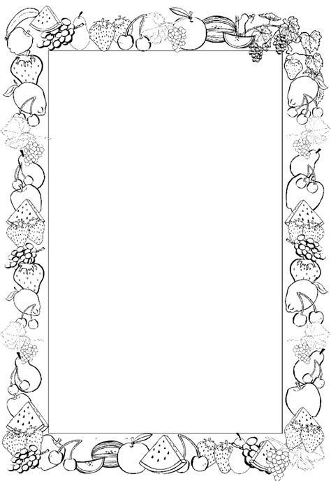 cornici word gratis printable frames and borders