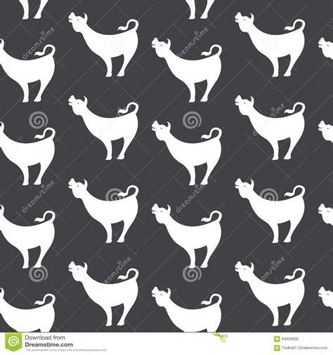 cow pattern vector art cow vector art background design for fabric and decor