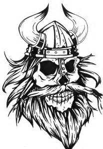 viking skull tattoo design by mokheir35 on deviantart