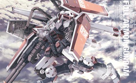 wallpaper gundam thunderbolt mg full armor gundam by kzchan on deviantart