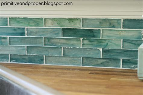 recycled glass tile backsplash diy recycled glass backsplash with the tile shop